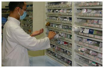 調剤業務(内服薬・外用薬・注射薬)