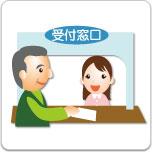 認定証を保険証と一緒に病院の窓口へ提出す。
